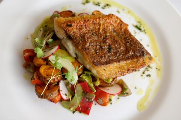 Fresh Seafood and Vegetables © Susan Lucas Hoffman