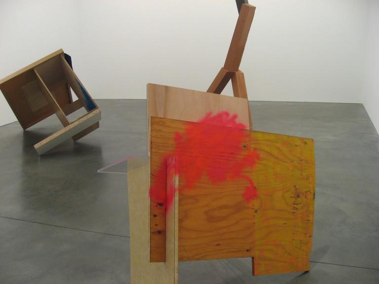 Sarah Berman & Joel Shapiro group show at Andrea Rosen Gallery, 2008