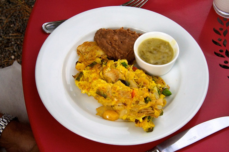Migas at Cochineal