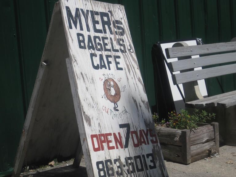 Myer's Bagel Bakery