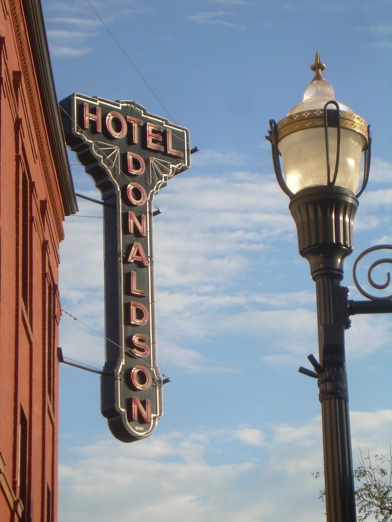 Hotel Donaldson, North Dakota