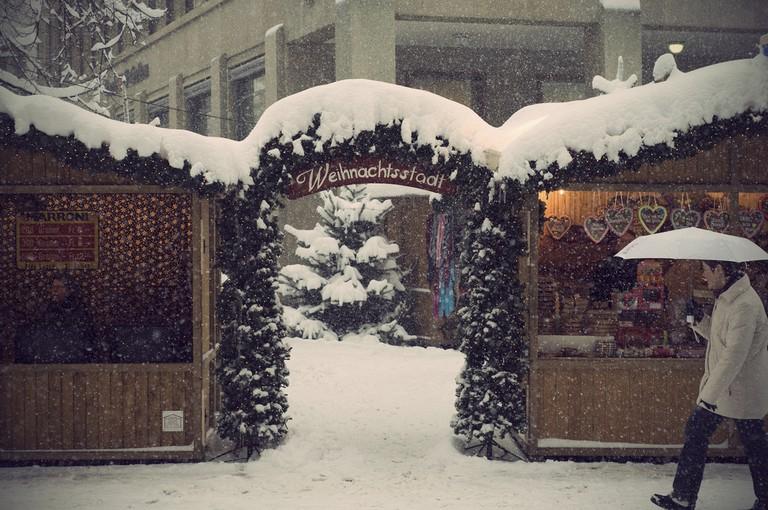 St Gallen Christmas Market Flickr © Marco Sanchez