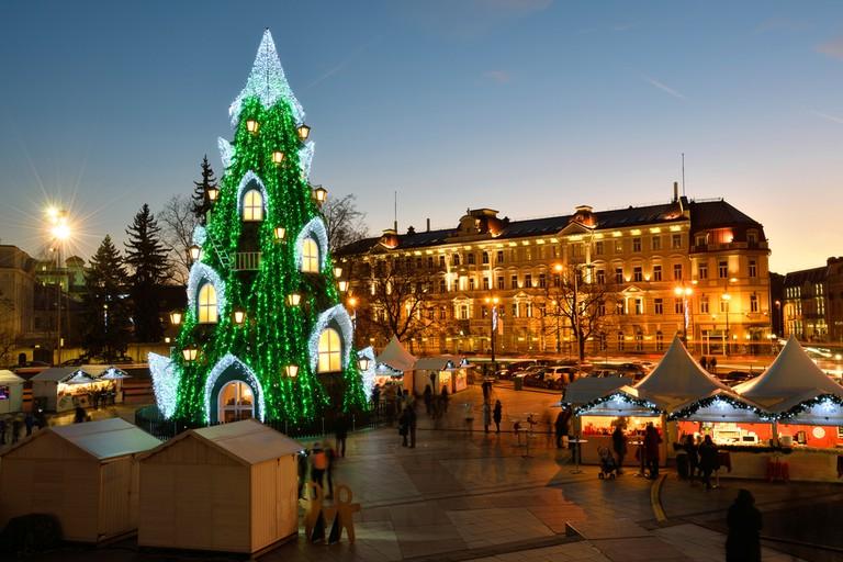 Christmas market in Vilnius, Lithuania | © astudio/Shutterstock