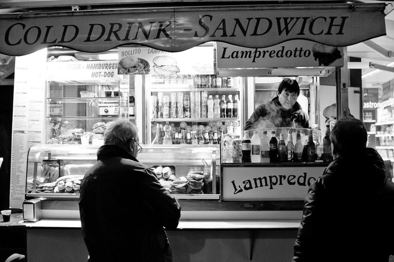 Lampredotto Sandwich © Alessandro Scarcella