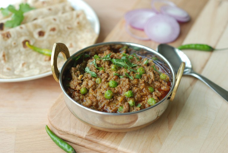 Kheema and Chapati | ©Yummy O Yummy/Flickr