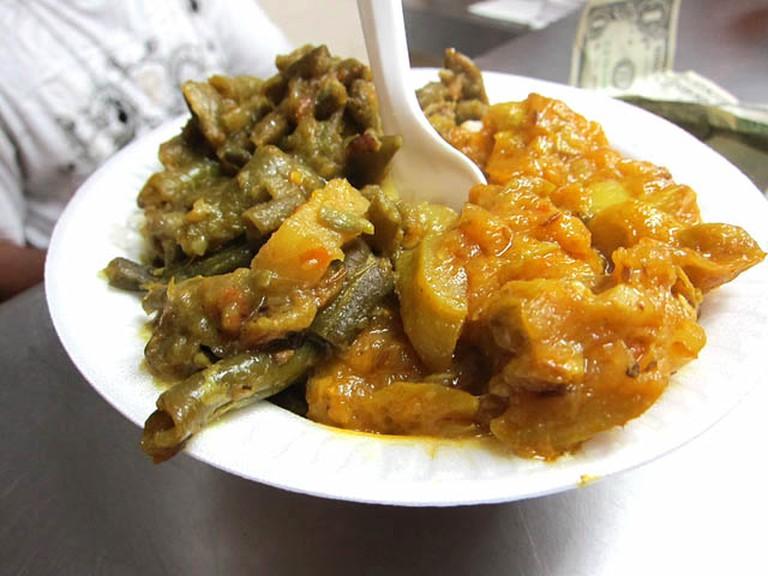 Punjab two-veg bowl | © Jason Lam/Flickr