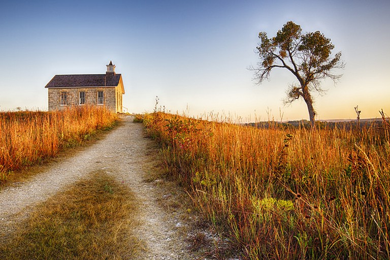 Tallgrass Prairie National Preserve| ©Patrick Emerson/Flickr
