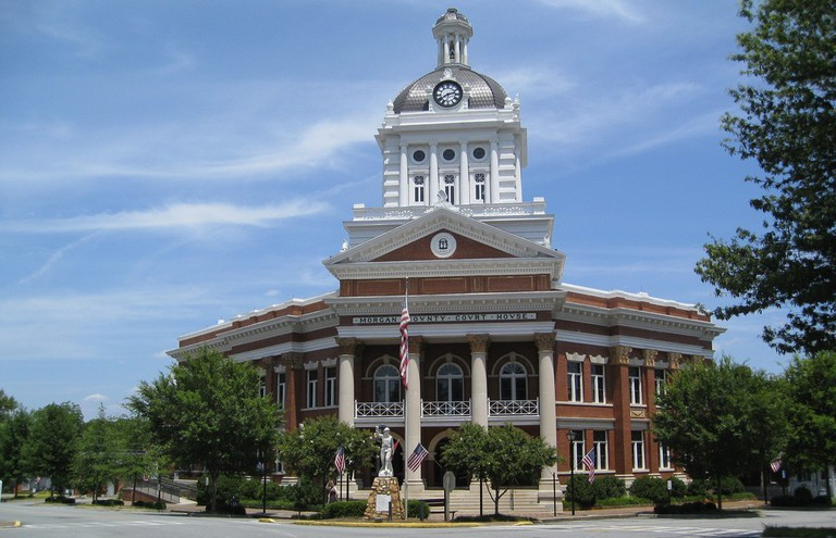 Morgan County Courthouse in Madison, Georgia @ Chris Yunker/Flickr
