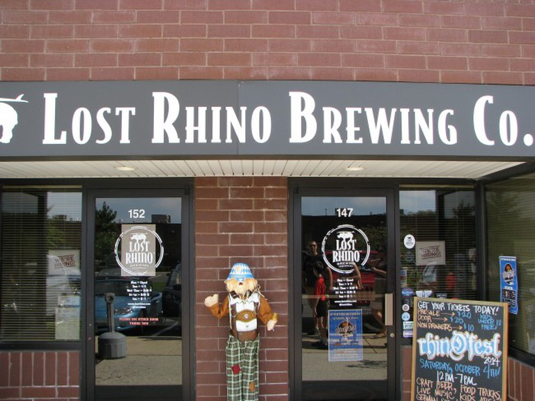 Lost Rhino Brewing Company, Virginia © howderfamily.com/Flickr
