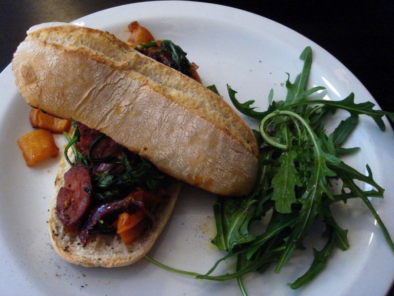 Chorizo Sandwich © observista