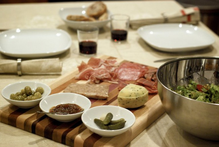 Cured Meat and Cheese © Lucia Sanchez