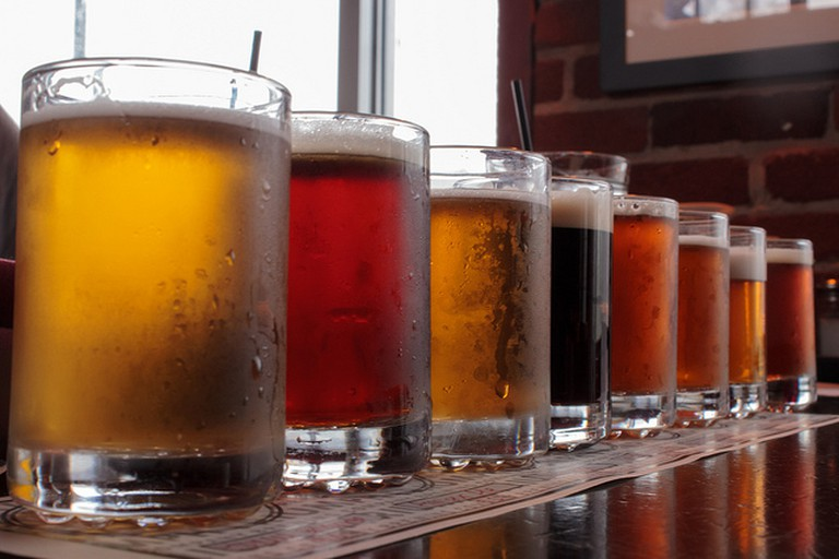 Triumph Brewing Company Beer Sample