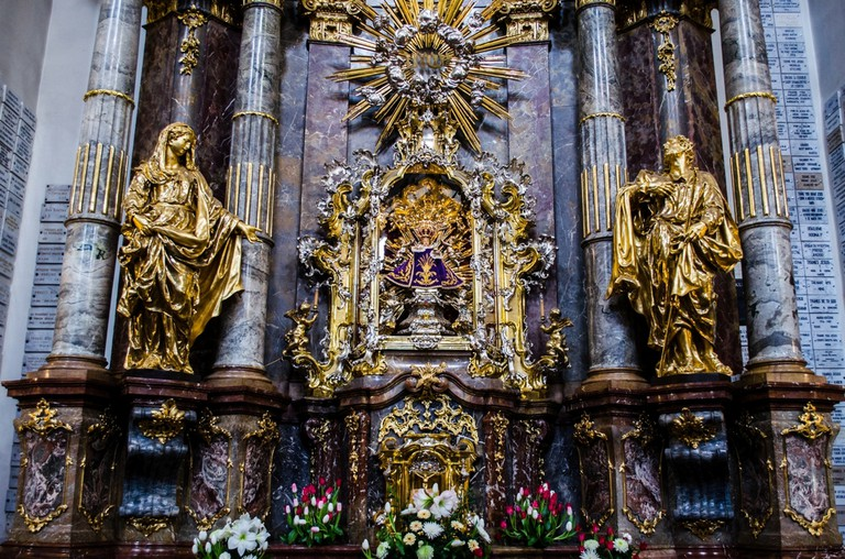 The Infant of Prague at the Church of Our Lady Victorious