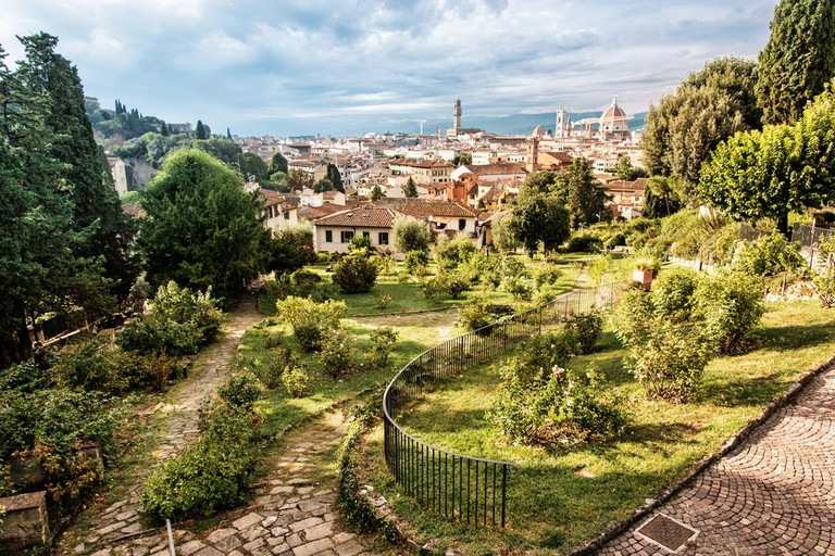 View from Giardino delle Rose to the city of Florence   © PeterVrabel/Shutterstock