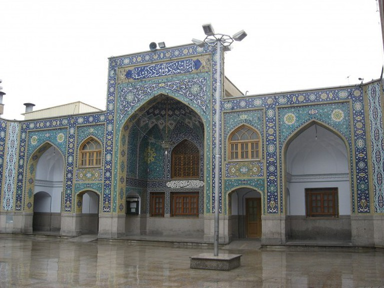 Shah Abdol Azim Shrine Courtyard   © Agha Nader/WikiCommons
