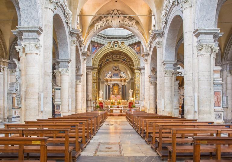 The church Basilica di Santa Maria del Popolo