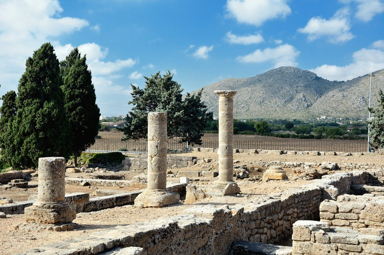 Pollentia was founded by the consul Qintus Caecilius Metellus in 123 BC in the strategic location between the bays of Pollenca and Alcudia