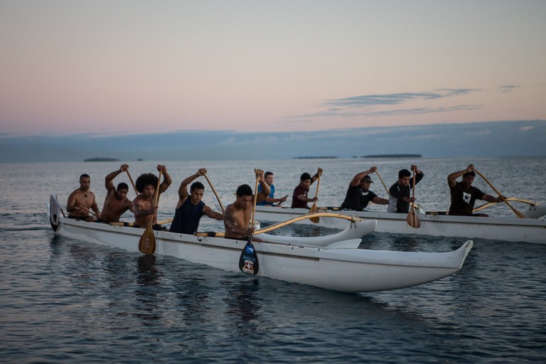 Australian Pacific Rowers   ©Department of Foreign Affairs and Trade/Flickr