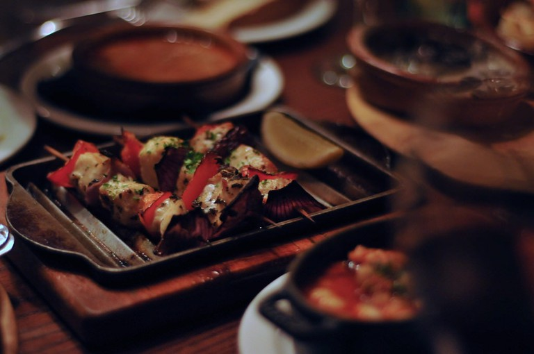 Savour some Spanish tapas at Check Inn 99