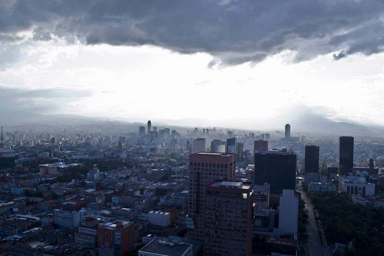 Miralto has similar views over Mexico City