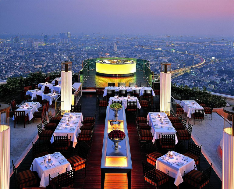 Enjoy the best dinnertime views at Sirocco