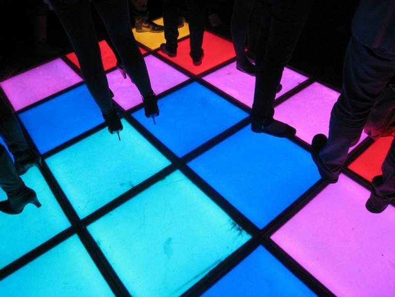 A Dancefloor   © Leigh Harries/Flickr
