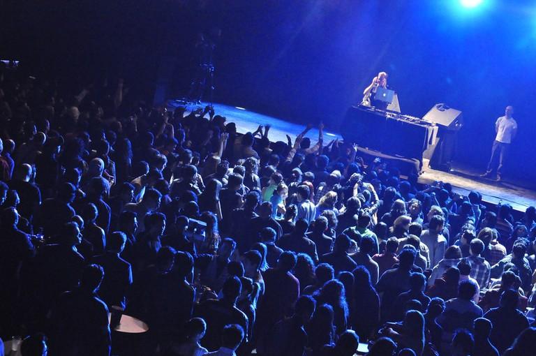 Andy Fletcher DJ Set @ El Plaza   © MNPHNC GRRRL/Flickr