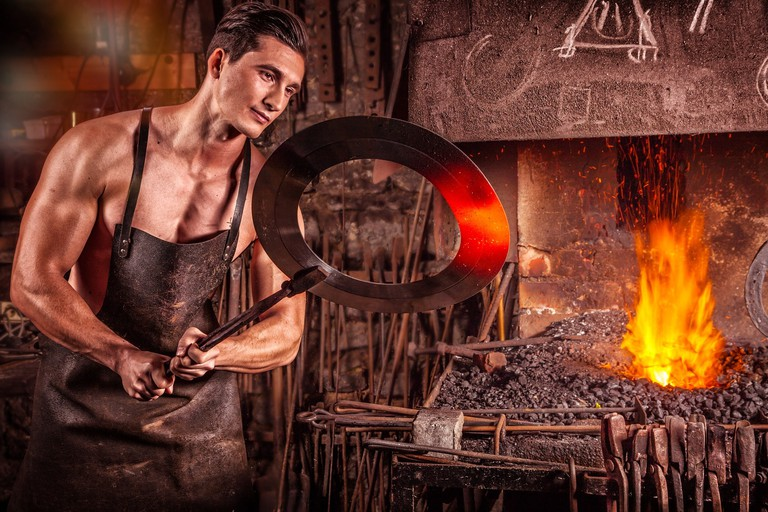 Feel as though you've stepped right into a blacksmith's forge at Iron Fairies