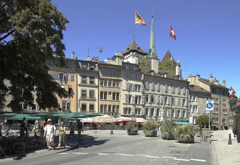 Geneve Bourg de Four   © Wouter Hagens/WIkiCommons