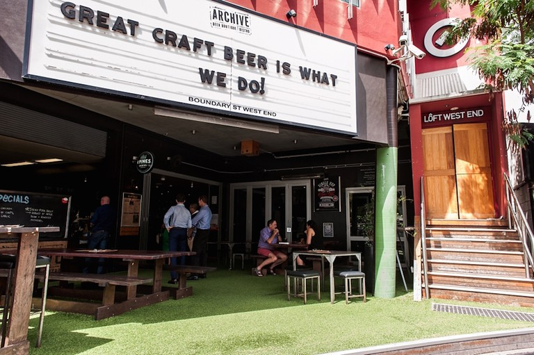 Archive's passion obviously lies in craft beer, and they have a whopping 22 constantly rotating draught beers on tap © Courtesy of Archive Beer Boutique