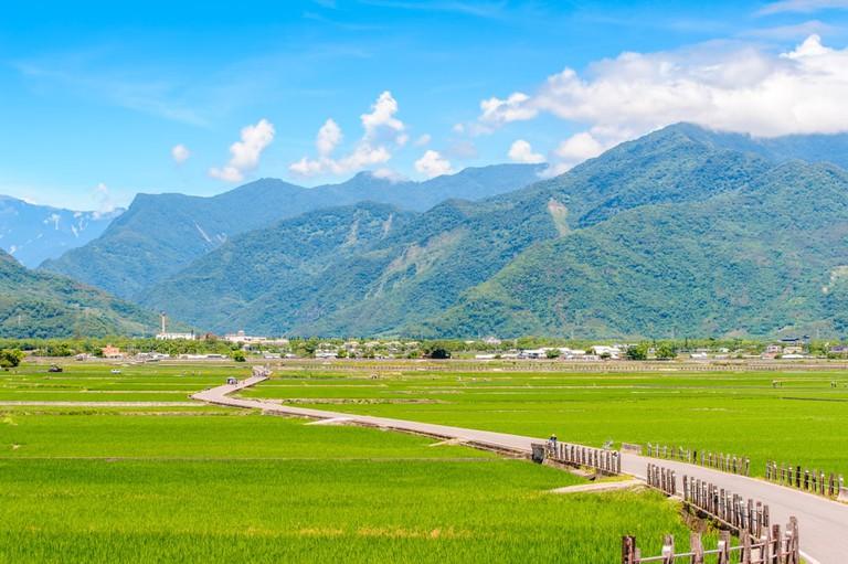 Heaven Road, Landscape of Chishang, Taitung   © Richie Chan/Shutterstock