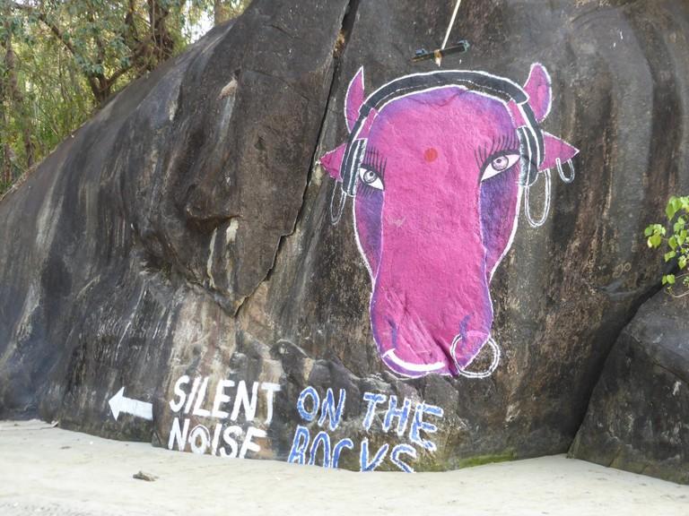 Silent Noise Disco, Goa| © tharobster/Flickr
