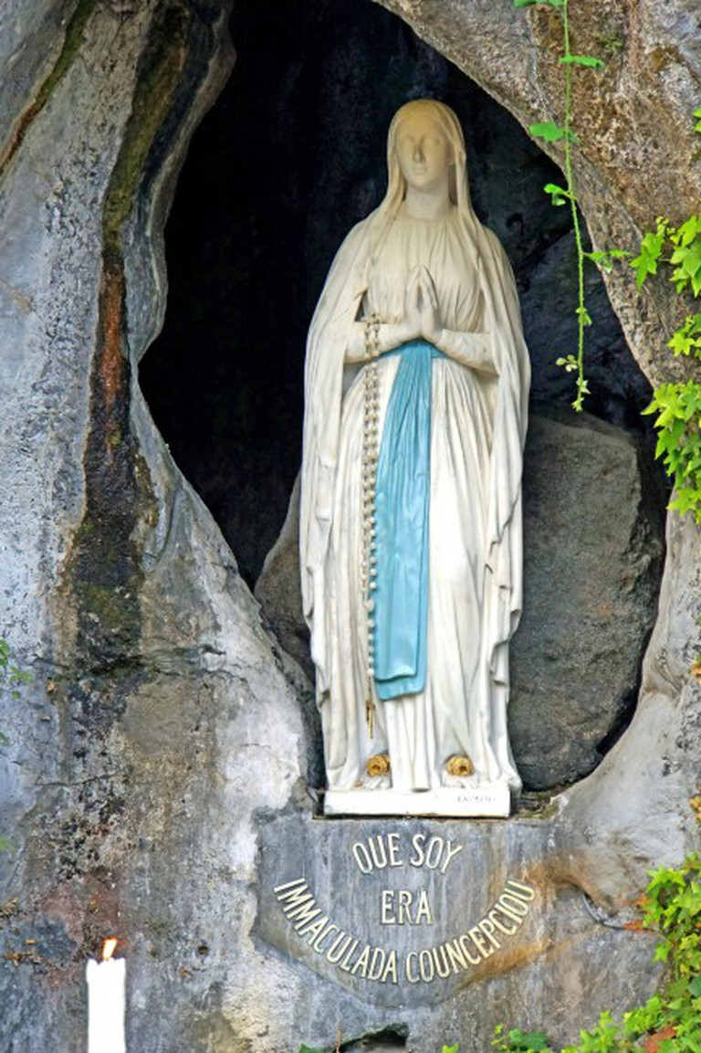 The Sanctuary of Our Lady of Lourdes | © Dennis Jarvis/Flickr
