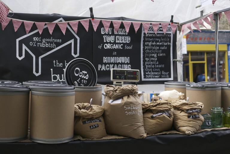 Stall on Chatsworth Market