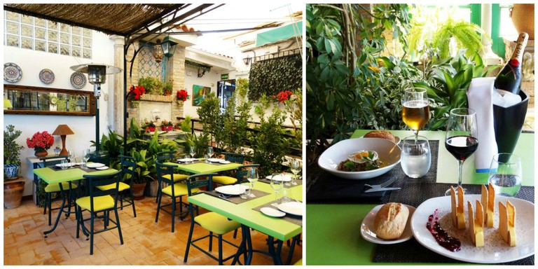 Carmen Verde Luna Restaurante, Granada