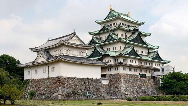 Nagoya Castle  © Base64 edit by Noodle snacks/WikiCommons