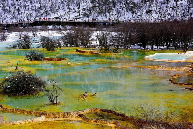 Jiuzhaigou I © Peter Liu/Flickr