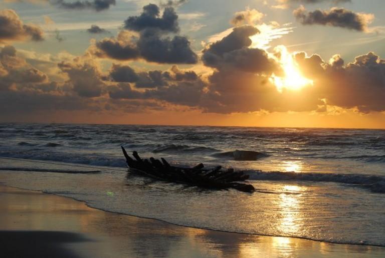 The Beach at Sunset   ©Staatsbosbeheer/Flickr