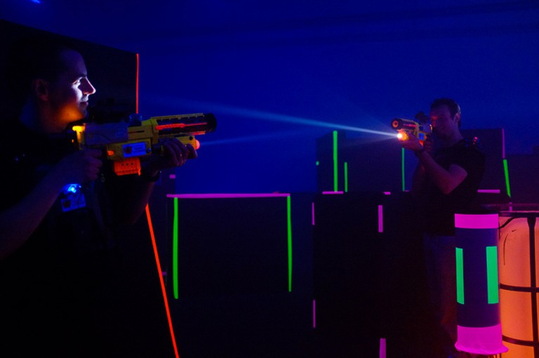 Laser Tag Indoors