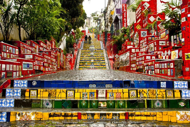 The Selarón steps are one of the most famous tourist attractions in Rio de Janeiro © Collectif Les Enfants / Flickr