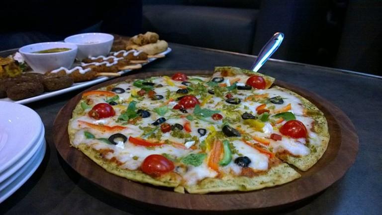 Veggie Farming Pizza | © Kabirsabri/WikiCommons