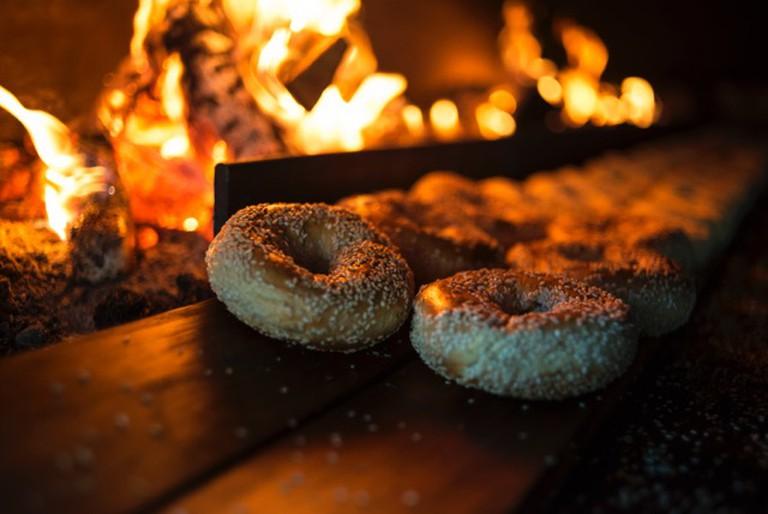 Bagels in Fire