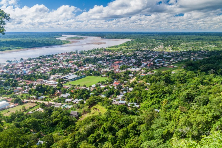 Aerial view of Rurrenabaque, Bolivia © Matyas Rehak / Shutterstock