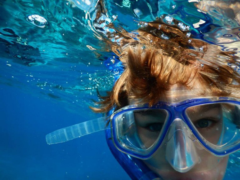 Snorkeling at Dawn Beach Saint Martin