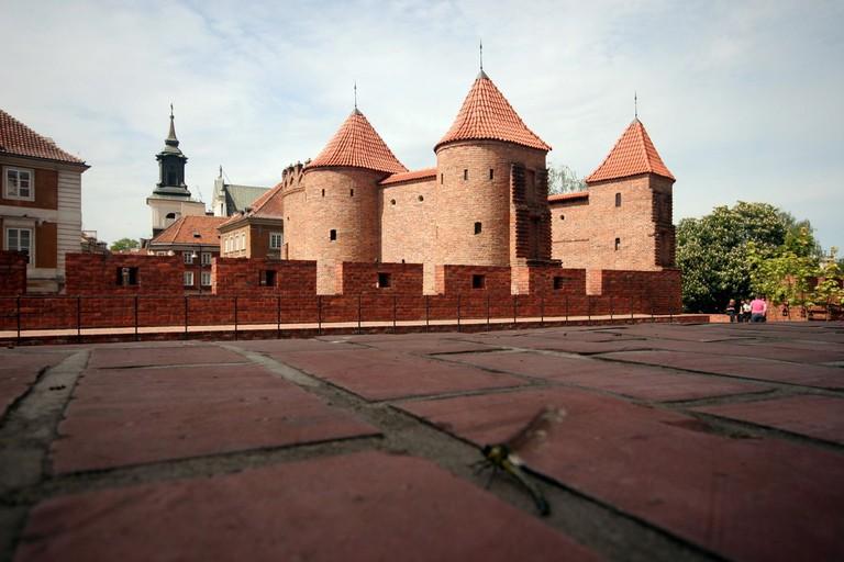 The Barbican was once the defensive wall of Warsaw © Ana Paula Hirama / Flickr