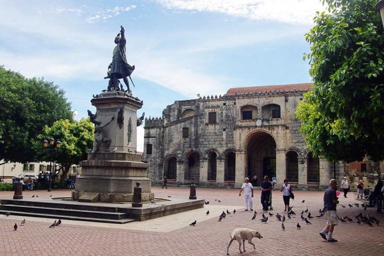 Parque Colon, Santo Domingo © Bgabel/WikiCommons