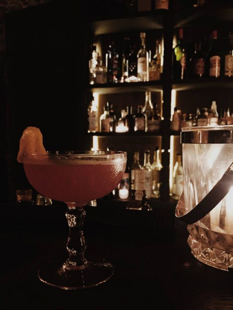 Try a special cocktail in this underground oasis| Courtesy of Hortense Spirits & Cocktails