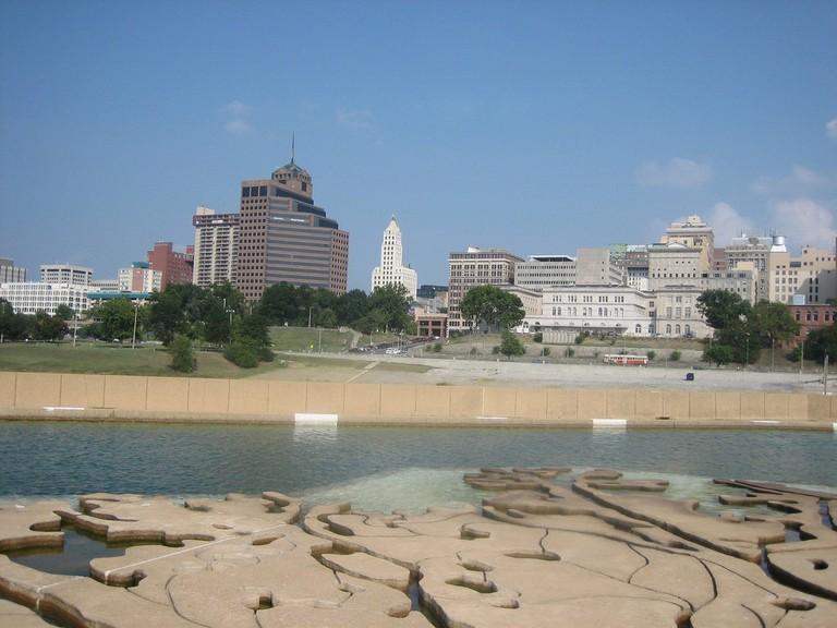 Memphis from Mud Island Park © Ben W / Flickr