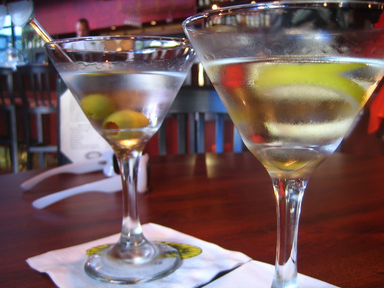 Martini with olives  © Rick/Flickr