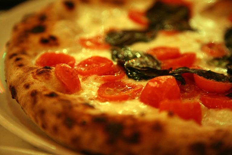 Typical Napoletana pizza   © Simon Law/Flickr